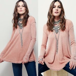 Free People Robertson Waffle Knit Thermal Top